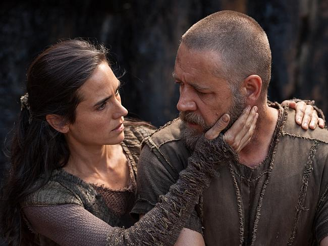 Flood of complaints ... Jennifer Connelly and Russell Crowe in Noah, which has been criticised by both Christians and Muslims for its portrayal of the prophet.