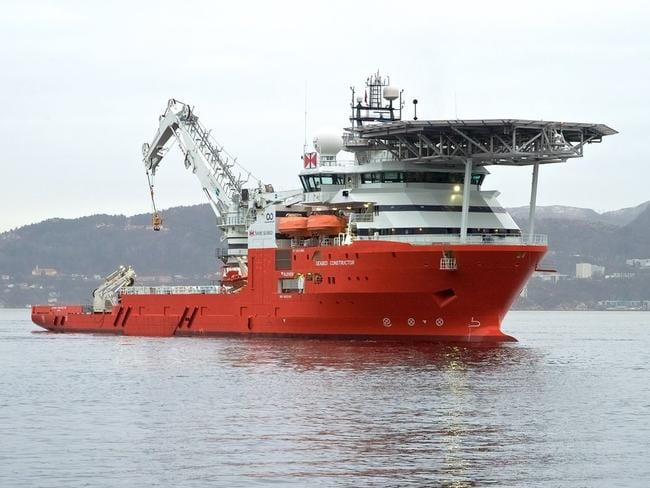 Ocean Infinity's Seabed Constructor. Picture: Supplied