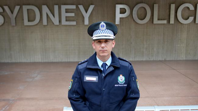 Surry Hills Crime Manager Detective Inspector Craig Middleton is warning of new and sophisticated scams where fraudsters pretend to be police officers.