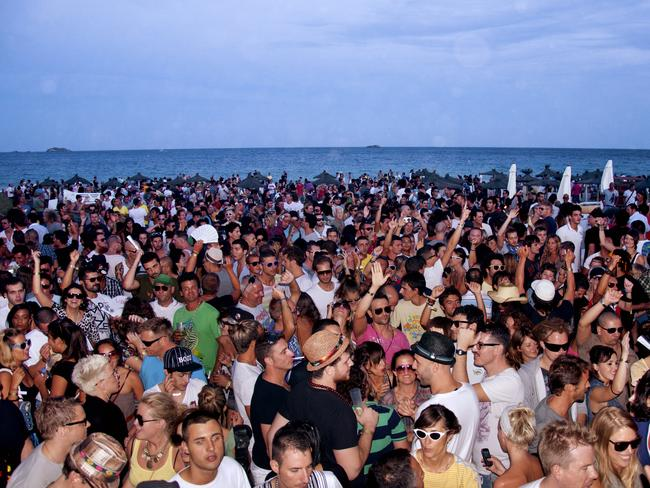 Party on the beach. Picture: Federico Capoano
