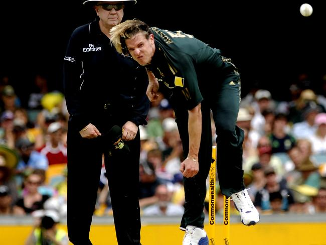 World Cup winner Nathan Bracken said challenges he faced in retirement made him feel like a failure. Picture: News Corp