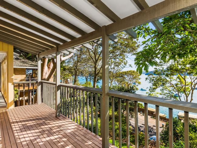 The view from 944 Barrenjoey Rd, Palm Beach.