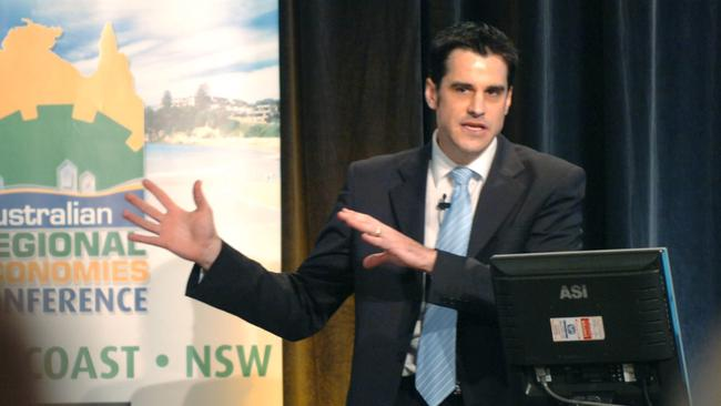 Social researcher ... Mark McCrindle says the differences in wealth outcomes are intriguing.
