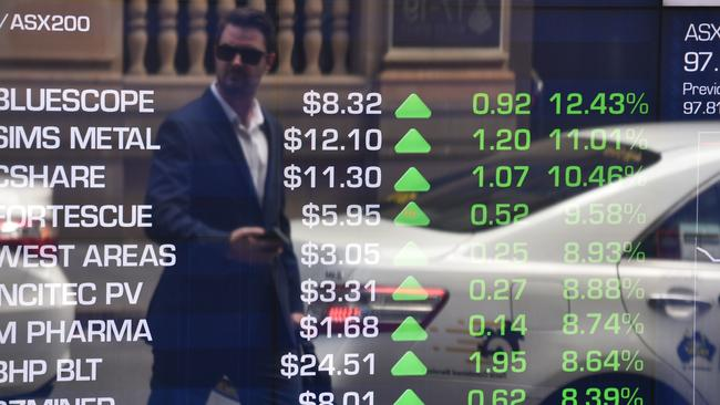 The ASX closed steady. Pic: AFP