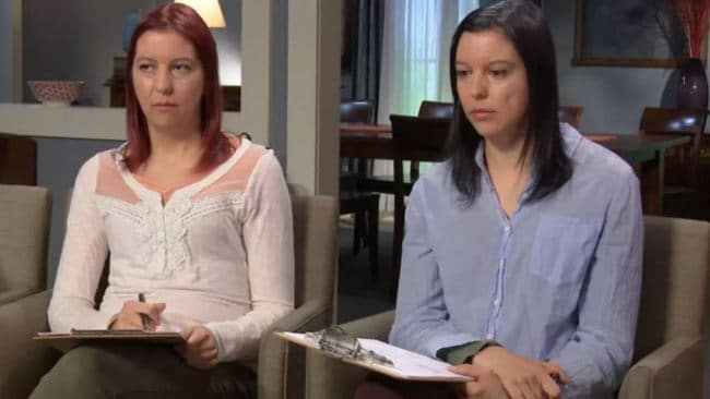 Sara and Amanda Eldritch appeared on The Doctors to talk about their severe OCD. Photo: CBS