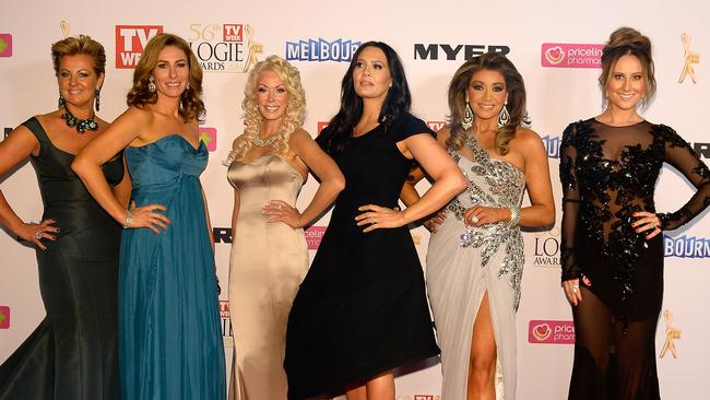 Real Housewives of Melbourne at the 56th TV Week Logie Awards 2014