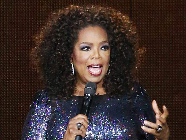 Oprah Winfrey. Just, y'know, one of the most famous and recognisable women in the world. Picture: Marc Robertson