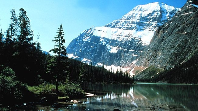 Mt Edith Cavell near Jasper