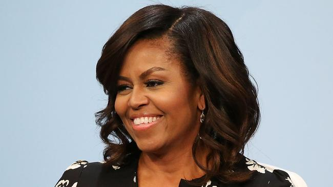 michelle obama rocks her natural hair