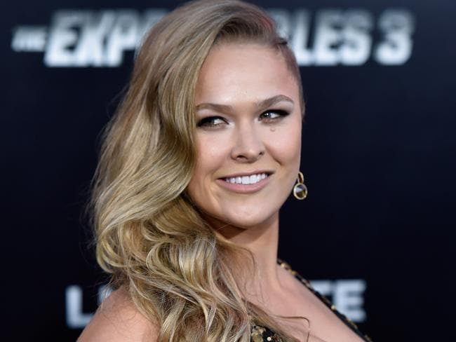 Rousey's focus for now is Hollywood.