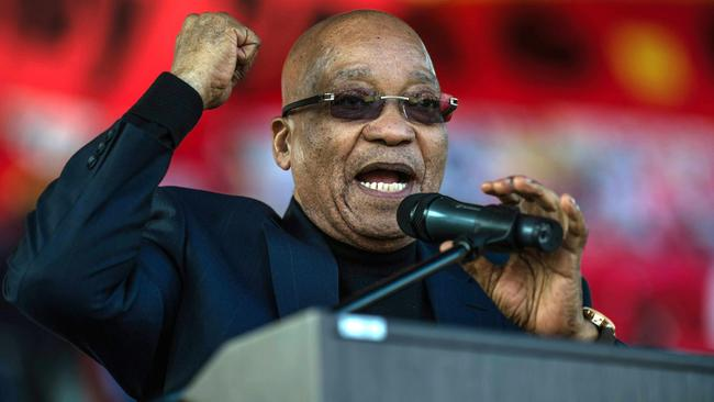 South Africa president Jacob Zuma. Picture: Mujahid Safodien/AFP