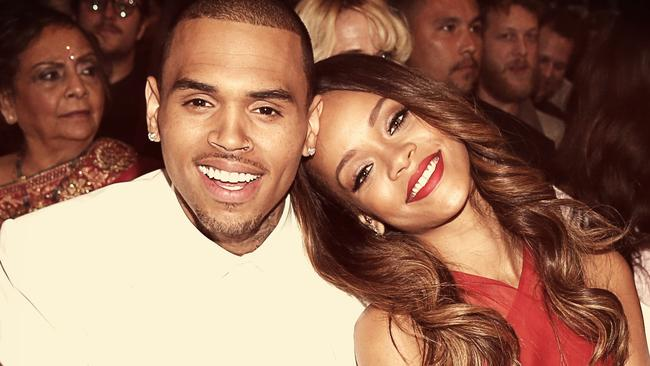 Wrong winners ... Chris Brown and Rihanna were wrongly named as winners of a BET Award. Picture: Christopher Polk/Getty Images