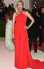 """Ivanka Trump arrives at The Metropolitan Museum of Art Costume Institute Benefit Gala, celebrating the opening of """"Manus x Machina: Fashion in an Age of Technology"""" on Monday, May 2, 2016, in New York. Picture: Evan Agostini/Invision/AP"""