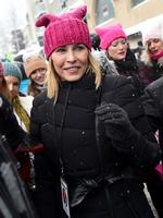 PARK CITY, UT - JANUARY 21: Chelsea Handler participate in the Women's March on Main Street Park City on January 21, 2017 in Park City, Utah. (Photo by Michael Loccisano/Getty Images)