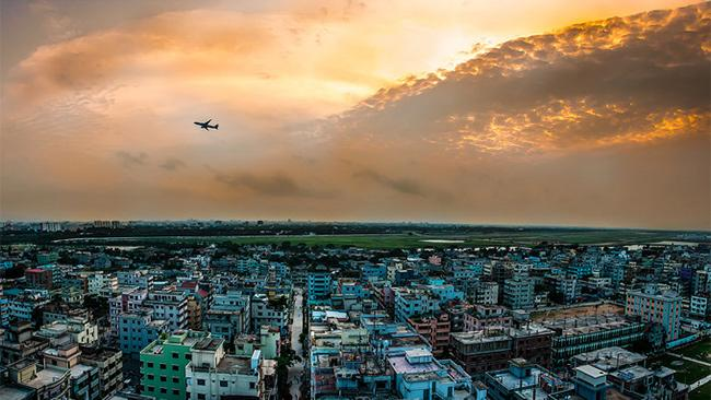 A view of Dhaka, Bangladesh. Picture: Karim Nafatni