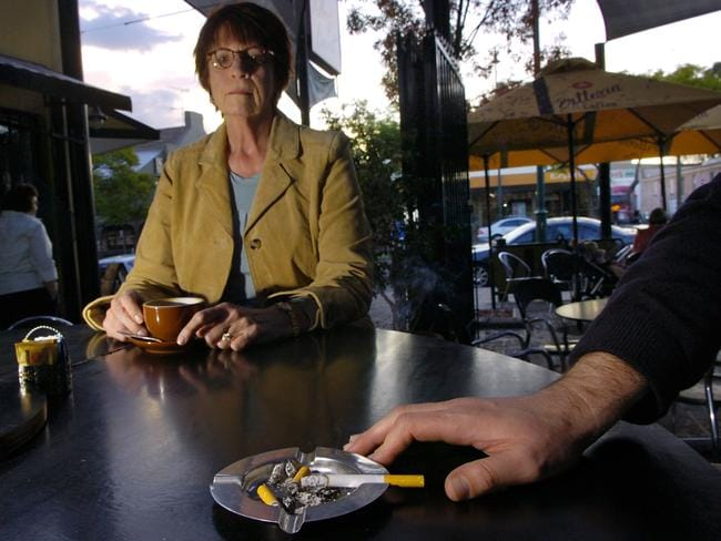 5500 for businesses flouting new smoking bans in outdoor dining areas