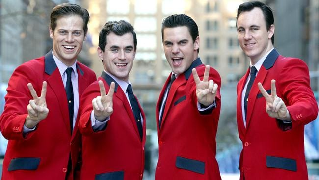 Sherry Baby ... Ben wowed audiences and critics in the hit musical Jersey Boys. Not long after, the TV industry came knocking. Picture: Supplied