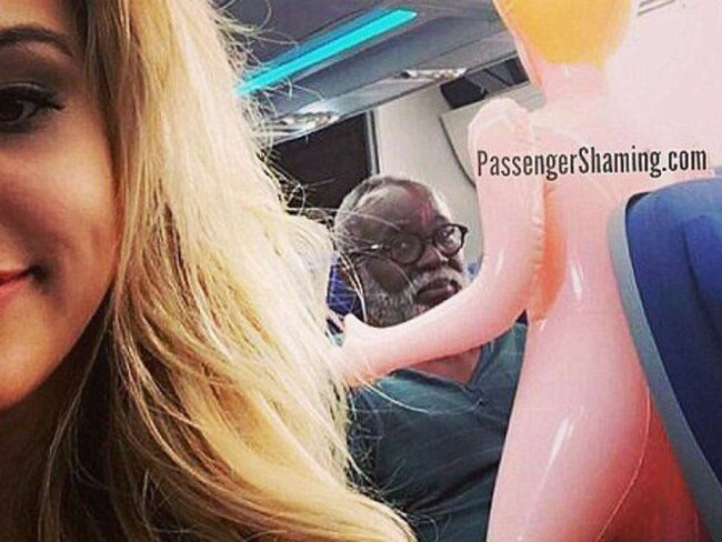 3. Are there even words? Picture: Passenger Shaming