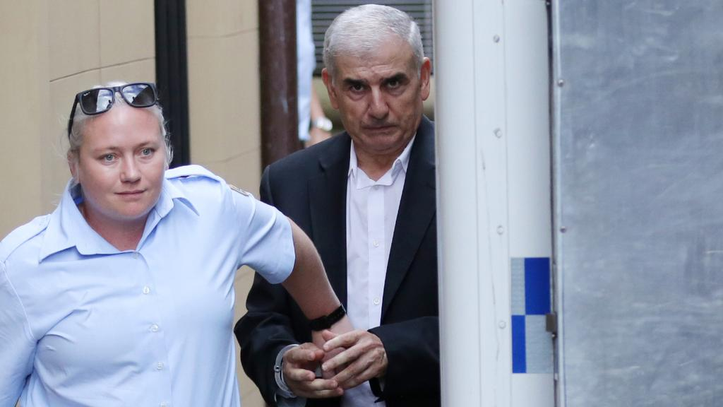 Haydar Haydar (pictured during his trial) was jailed for a maximum of 22 years for the murder of his wife. Picture: Christian Gilles