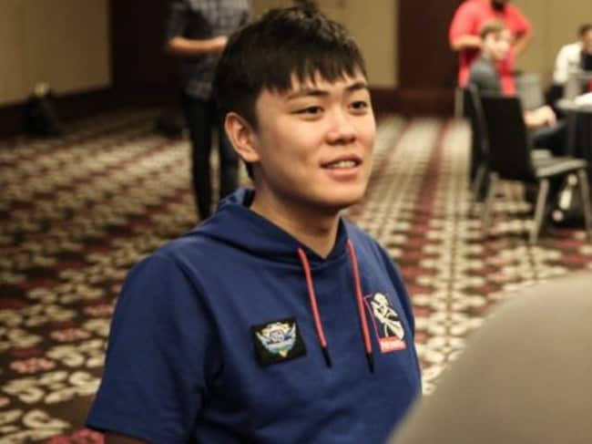 Australian Dota 2 star Damien 'kpii' Chok. Supplied via @NewbeeDota on Twitter.