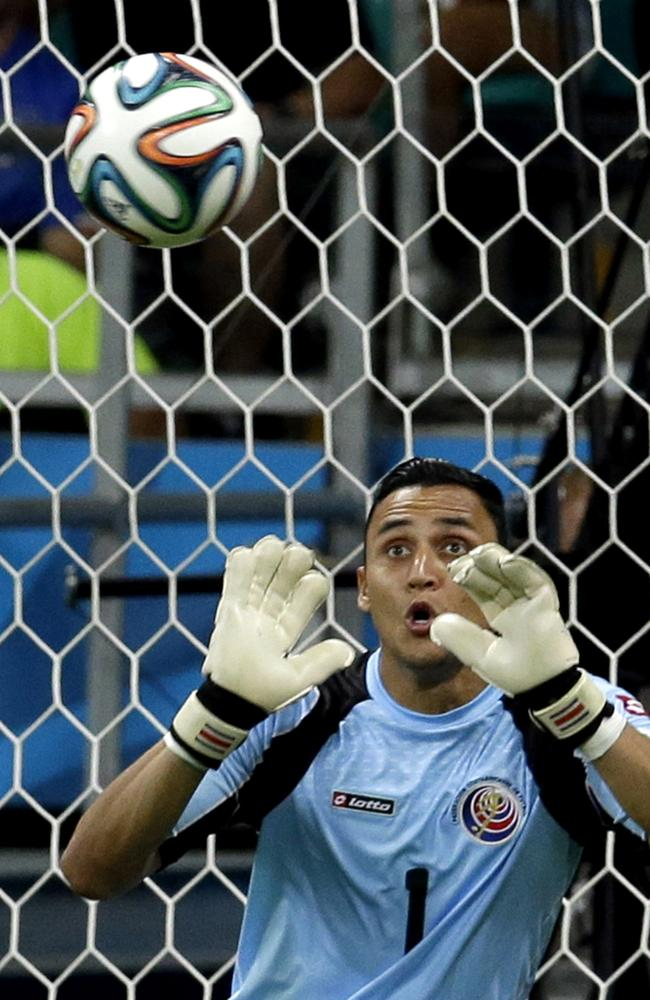 Costa Rica's goalkeeper Keylor Navas has been key against the Netherlands in the World Cup quarter-finals.