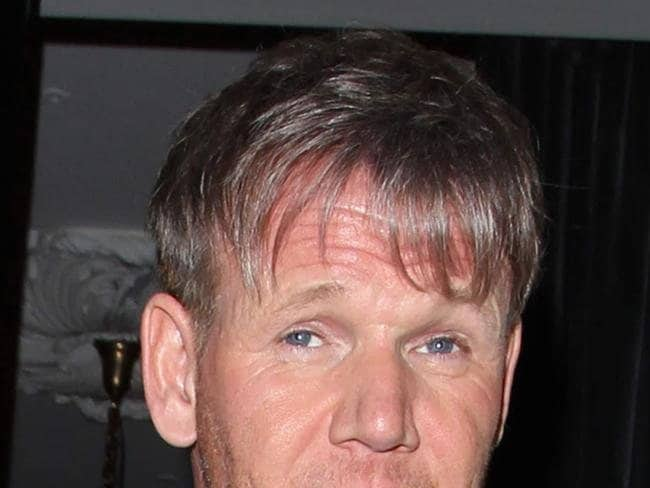Gordon Ramsay at Victoria Beckham's 40th Birthday at The Arts Club in London