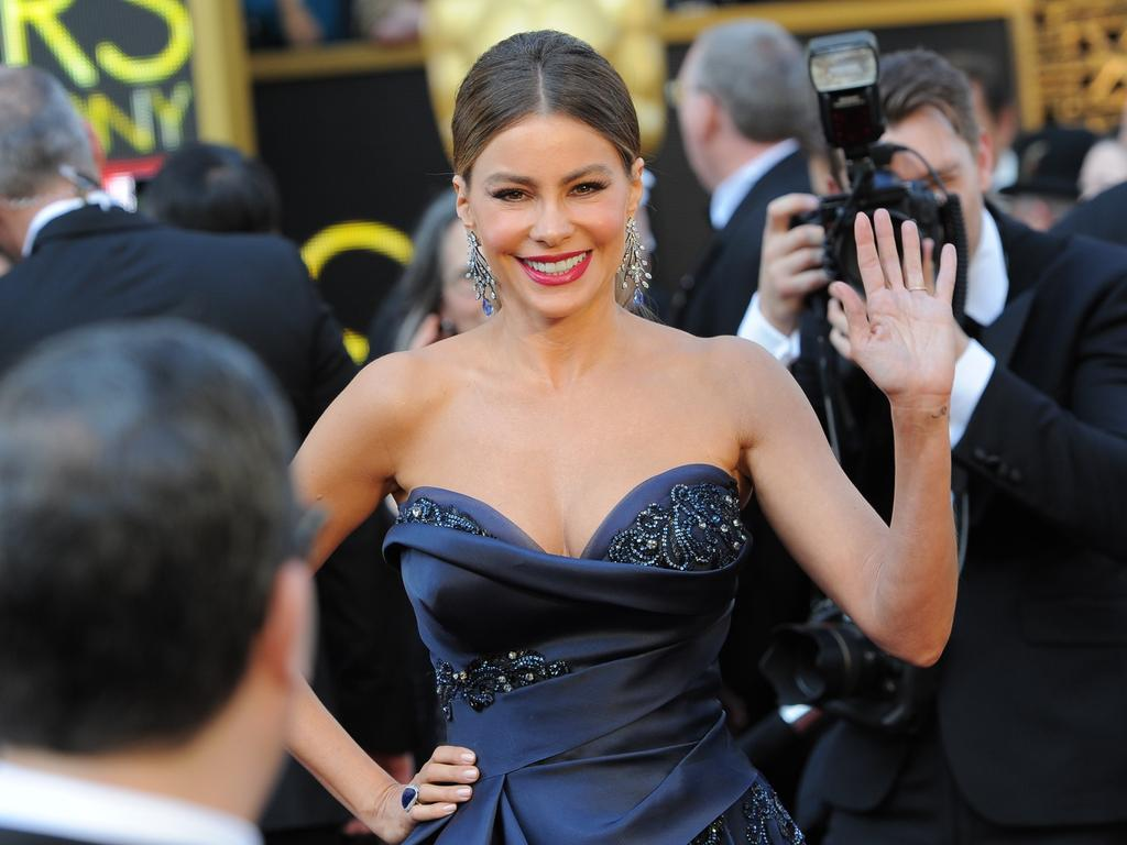 Sofia Vergara attends the 88th Annual Academy Awards on February 28, 2016 in Hollywood, California. Picture: AFP