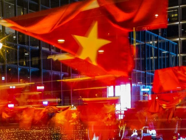 HONG KONG, HONG KONG - JUNE 28: Chinese and Hong Kong flags are seen ahead of Chinese President Xi Jinping's arrival in Hong Kong for the 20th anniversary of the handover from Britain to China on June 28, 2017 in Hong Kong, Hong Kong. Hong Kong is marking 20 years since the territory was handed from Britain to China, after more than 150 years of British rule, as the handover on July 1, 1997, had been viewed with a mixture of uncertainty and hope. The territory's economy has seen benefits from the closer links to China since the handover although social and political tensions have been brewing over the last two decades. Hong Kongers have developed a stronger sense of local identity, which is also been defined by anti-mainland sentiments, and that led to the Umbrella protests of late 2014. Based on reports, Hong Kong's super-wealthy has enjoyed the benefits from the increased investment from the mainland, especially in property, although the huge influx of money from the mainland have raised the costs of living for most people in the city while its income inequality continue to rise. Students and young people have demonstrated that they seek for more democracy in Hong Kong and while China's president Xi Jinping travels to Hong Kong to mark the handover anniversary, his visit will be expected to be marked by noisy protests by pro-democracy activists. (Photo by Billy H.C. Kwok/Getty Images)