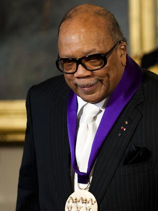Speaking out ... Music legend Quincy Jones said he plans to comment on 'the lack of diversity'.