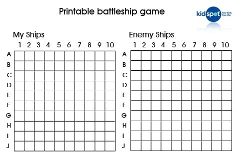 Battleship Prinatbles: How To Make Your Own Battleship Game - Kidspot