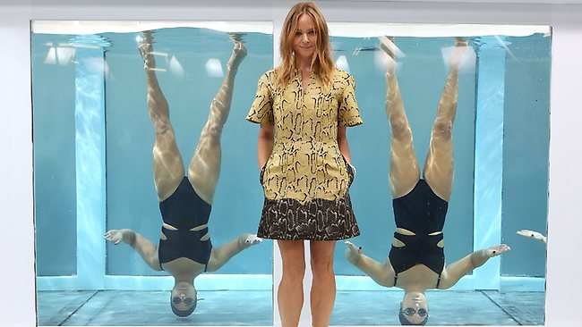 Designer Stella McCartney attends the Adidas by Stella McCartney presentation at London Fashion Week.