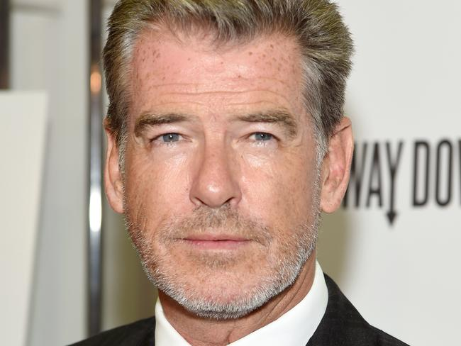 Angela had a charming encounter with Pierce Brosnan last month. As you do.