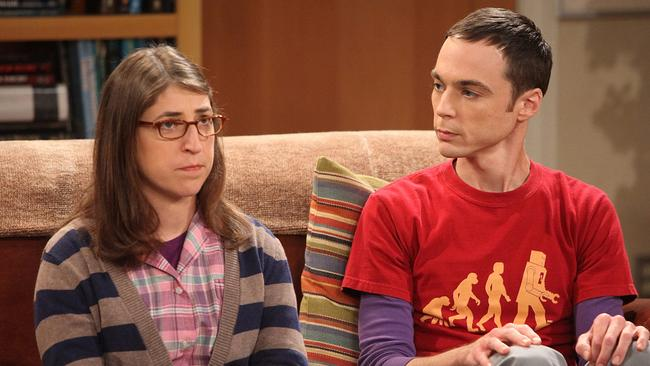 Love is in the air between Sheldon and Amy.