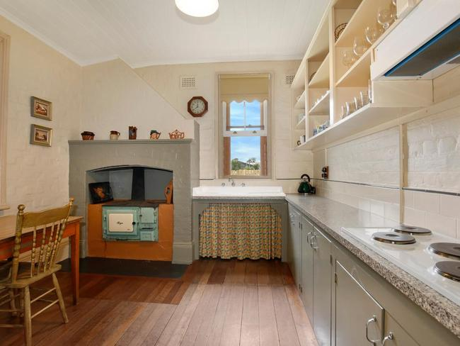 The kitchen was the scene to a brutal axe murder in 1932. Picture: LJ Hooker/realestate.com.au