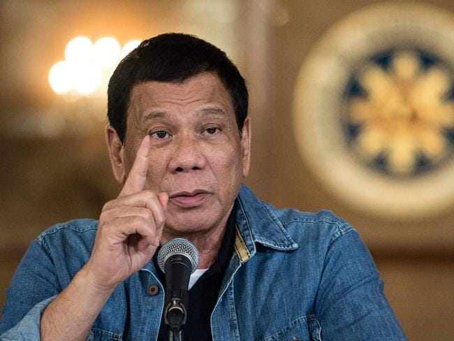 Thousands of people have died in the crackdown that began when Rodrigo Duterte took office in the middle of last year. Picture: Noel Celis/AFP