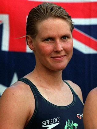 Susie O'Neill won the 200m butterfly at the 1996 Atlanta Olympics and the 200m freestyle in Sydney, 2000.