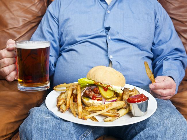 Obesity is a major cause of diabetes. Picture: Getty Images