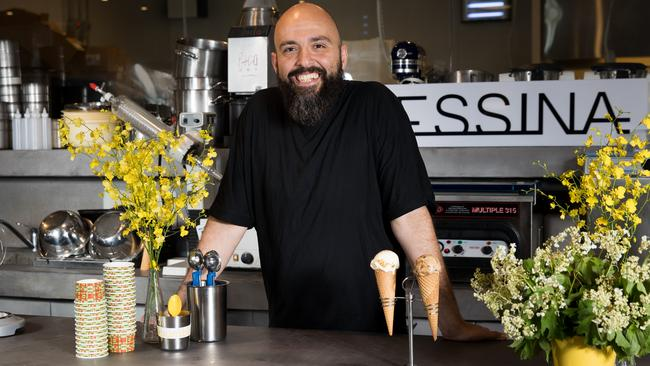 Gelato Messina's Head Chef, Donato Toce says attendees can expect to feel a real 'buzz' when they taste It Feels Like There's Lavender-Air flavour.