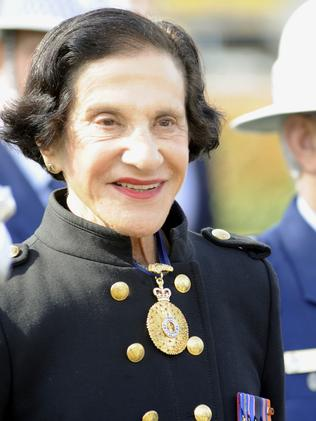 Current Governor of NSW, Marie Bashir.