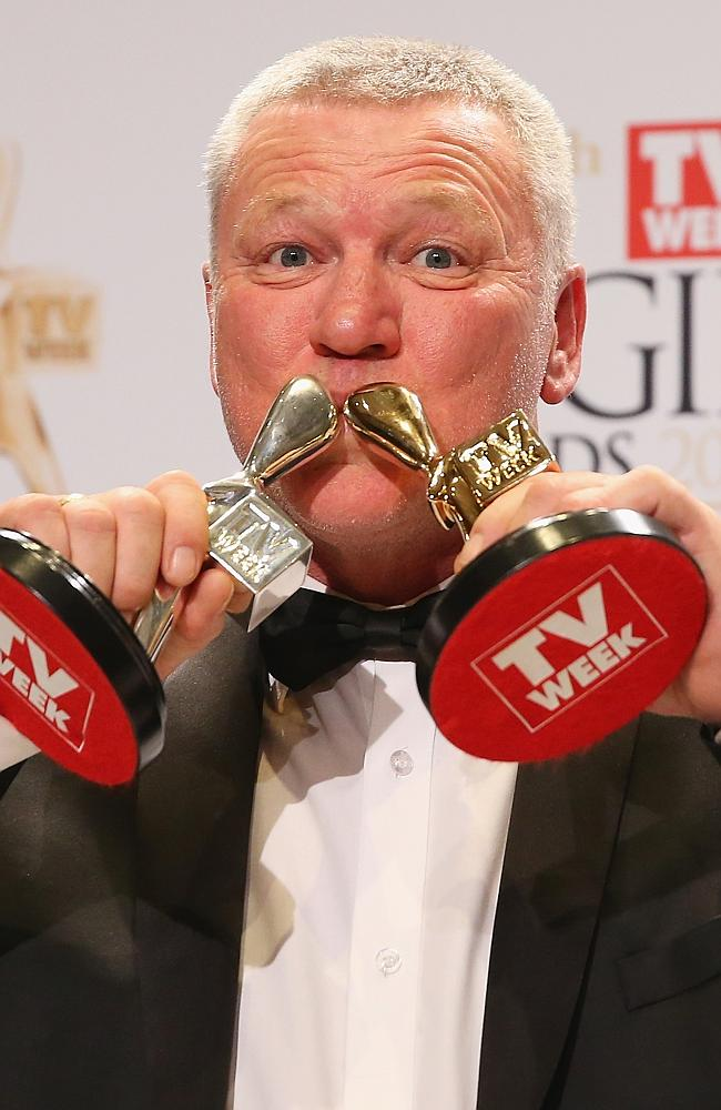 Scott Cam poses in the awards room after winning the Gold Logie for Most Popular Personality on Television at the 2014 Logie Awards.