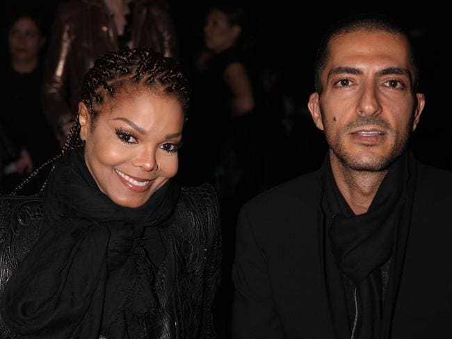 Jackson and then-husband Wissam Al Mana in 2013. Picture: Getty