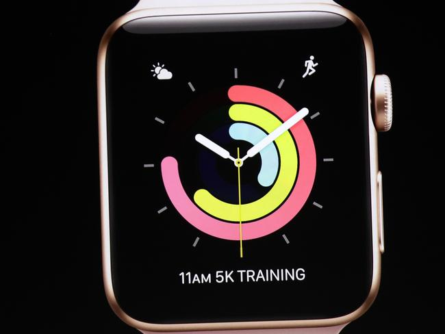 WatchOS 4 has been designed with health and fitness in mind. (AP Photo/Marcio Jose Sanchez)