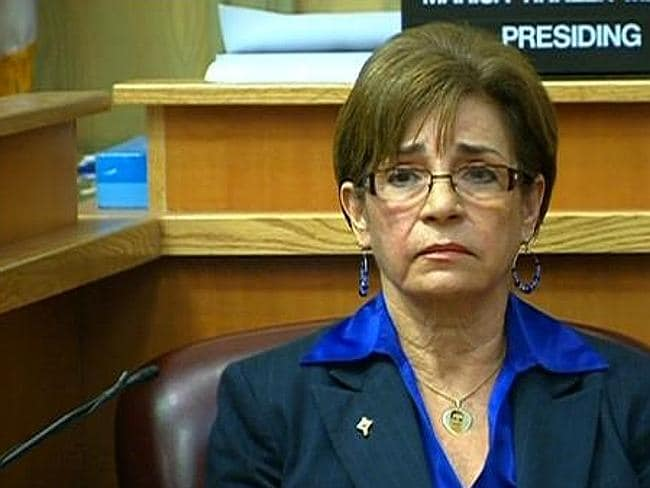 Truth triumphs ... Myriam Benitez has welcomed the jury's verdict to find Michel Escoto guilty of murdering his wife.