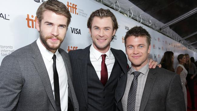 Photo of Luke Hemsworth & his  Brother  Liam Hemsworth