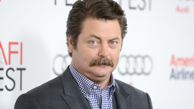Nick Offerman, who plays Ron Swanson in Parks and Recreation
