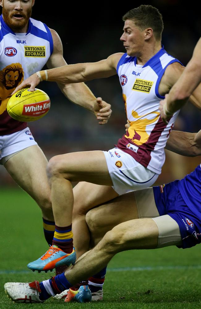 Dayne Zorko's pace was electric during the second quarter. Picture: Tim Carrafa