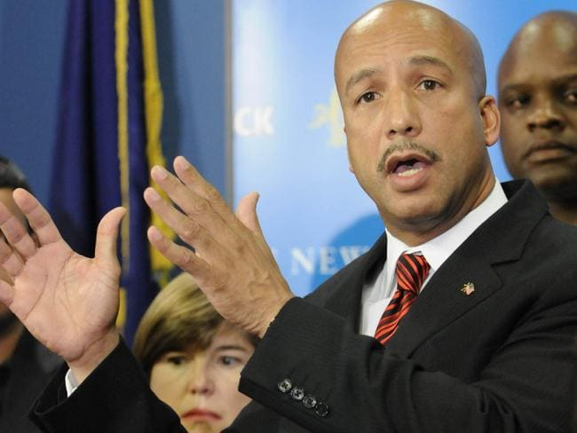 Nagin was critical of federal recovery efforts following Katrina.