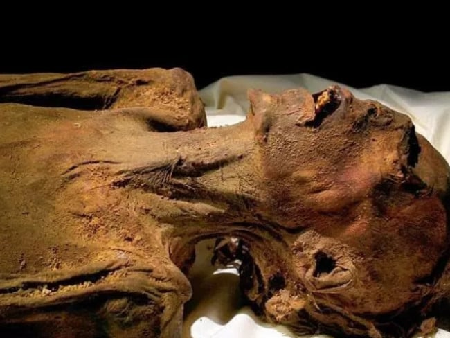 It is thought the Mummy might be Prince Pentewere. Picture: Egyptian Ministry Of Antiquities