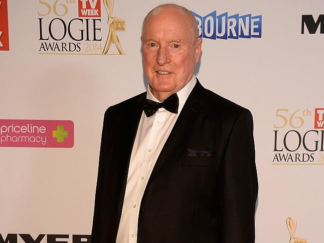 Ray Meagher looked flamin good in his tuxedo.