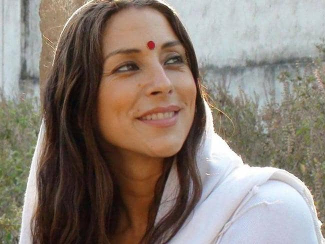 Psalm Isadora during a trip to India, where she became a master in the art of Tantric yoga. Picture: Facebook